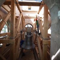 Neuer Holzglockenstuhl Aldersbach